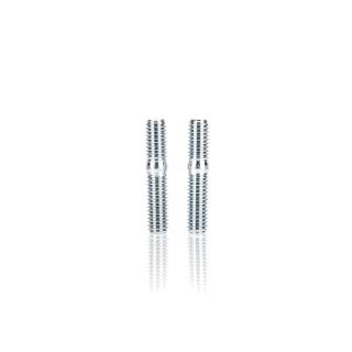 Paar Stiftschrauben Vergaserflansch M6x18 - 5.8 - A4K (DIN 835)