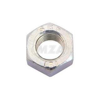 Mutter M12x1,5 flach für Kupplungskorb/Kupplungswelle-Feingewinde