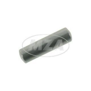 Zylinderstift 2,5x8-St (DIN 7- mh8) - ungehärtet mit Kegelkuppen