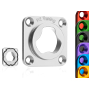 CNC Highend-Dichtkappe mit O-Ring Abdichtung | Schwarz