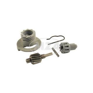 SET Tachoantrieb kpl. 5-teilig - Schraubenrad Z=13 für Antriebskettenrad Z=16 - Motor M500-M700
