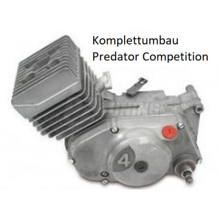 Komplettmotor 60ccm Predator Competition -aus Neuteilen