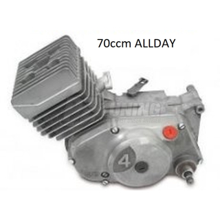 Komplettmotor 70ccm ALLDAY - aus Neuteilen