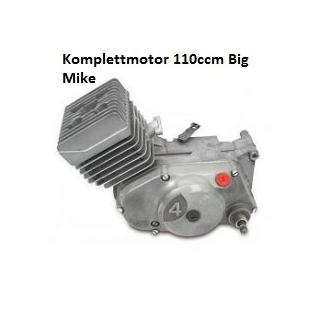 Komplettmotor 110ccm Big Mike - aus Neuteilen