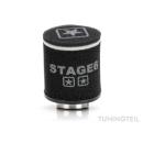Rennluftfilter für PWK Rennvergaser | schwarz | rund...