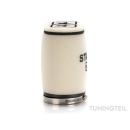 Rennluftfilter für PWK Rennvergaser | weiß | oval | groß