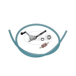 SET Kraftstoffhahn - inkl. Benzinschlauch, Benzinfilter - KR51, SR50, SR80