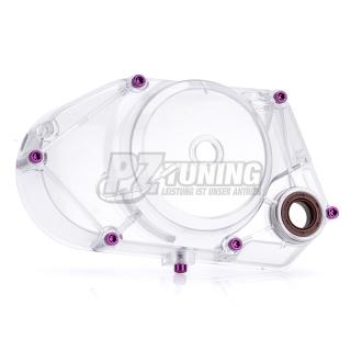 Aquarium Öl-Seitendeckel f. Simson S51 Motoren transparent