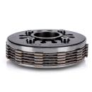 Kupplungspaket 5-Lamellen mit verstärkten Nasen und CNC Kupplungsplatte Simson S51 Kupplung