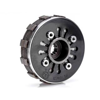 Kupplungspaket 6-Lamellen mit verstärkten Nasen und CNC Kupplungsplatte Simson S51 Kupplung