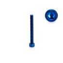 Schraube für den rechten Seitendeckel Blau