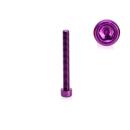 Schraube für den rechten Seitendeckel Lila